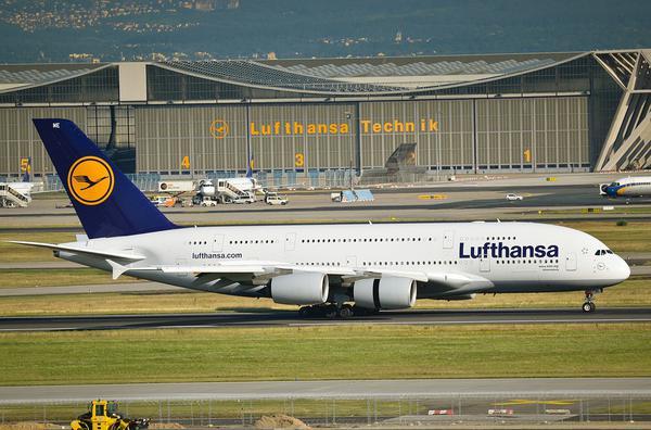 Samoloty Lufthansa w Bydgoszczy