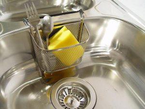 Wymiana zlewozmywaka w kuchni
