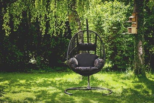 Oaza dobrego samopoczucia z fotelem kokon