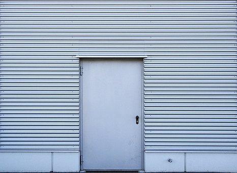 Aluminiowe drzwi na zewnątrz